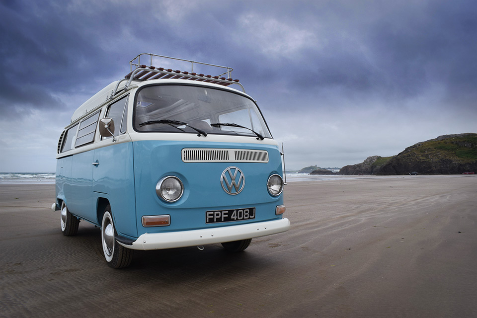 Classic VW Campervan Hire in North Wales | Snowdonia Classic